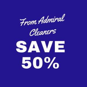Admiral Cleaners Savings