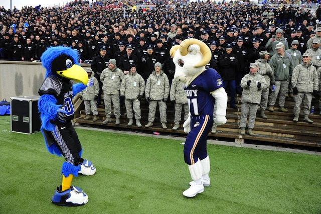 Navy Vs. Air Force Football: 50 Years of History