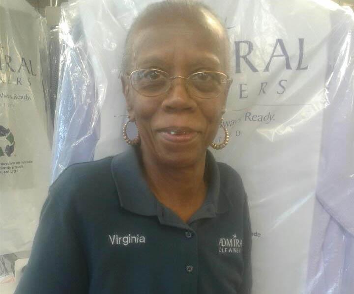 Smiling Ms.Virginia